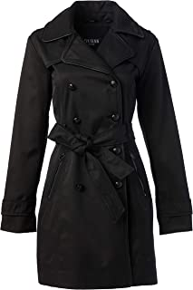 GUESS womens Double Breasted Trenchcoat