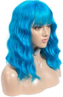 Best bright blue wig Reviews