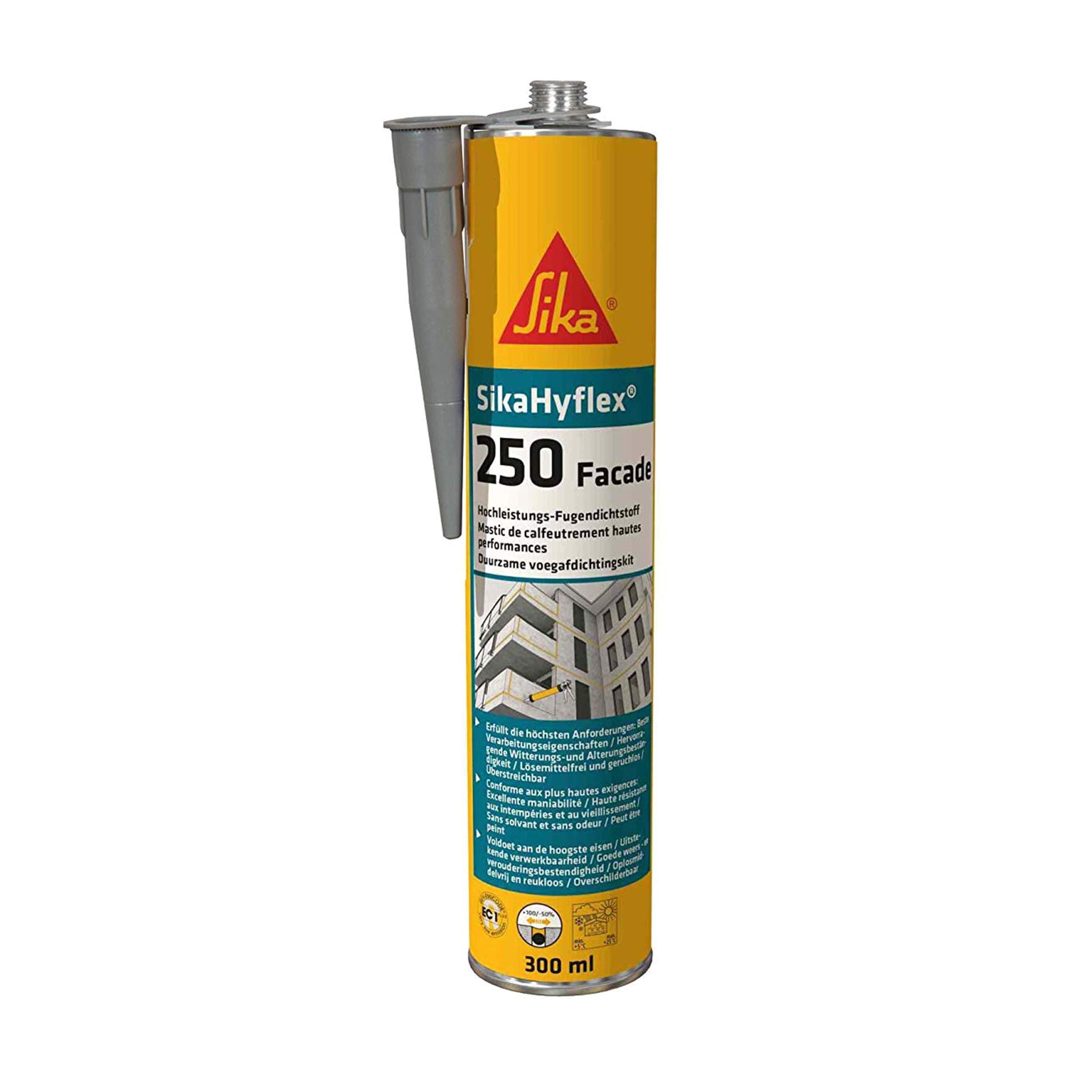 SikaHyflex 250 - Masilla para juntas fachadas (300 ml), color blanco, gris, 443701: Amazon.es: Bricolaje y herramientas