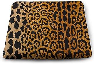 Comfortable Seat Cushion Chair Pad Leopard Print Perfect Memory Foam Cushions Lighten The Bumps
