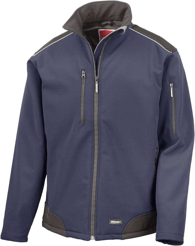 Result Men's Ripstop Softshell Workwear Jacket