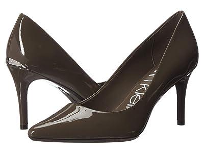Calvin Klein Gayle Pump (Camouflage Patent) High Heels