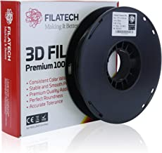 Filatech Flexible Filament - TPU, Black, 1.75 mm, 0.5 Kg
