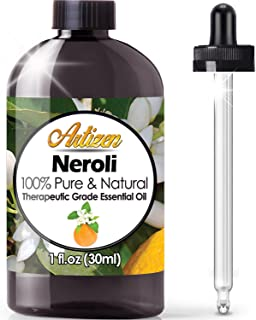 Artizen Neroli Essential Oil (100% Pure & Natural - UNDILUTED) Therapeutic Grade - Huge 1oz Bottle - Perfect for Aromather...