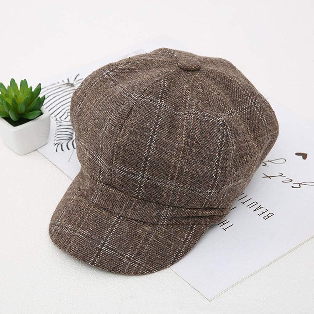 Octagonal Beret Autumn And Max 49% OFF Winter Save money Retro British Style New Woolen