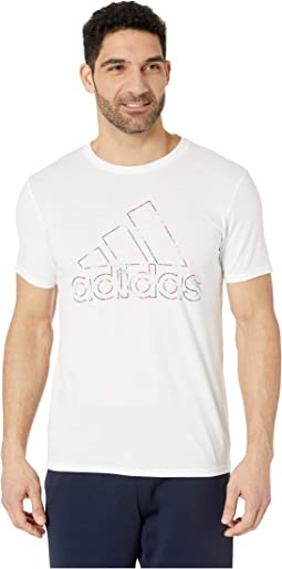 Badge Of Sport Coded Tee