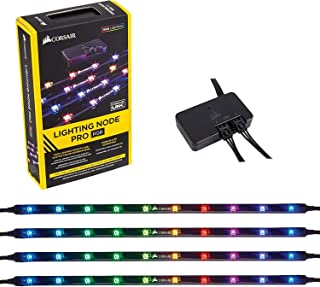 Corsair CL-9011109-WW Lighting Node Pro RGB Lighting Controller with 4 RGB LED Strips