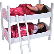 تخت دو نفره برای دوقلو عروسک متناسب با عروسک 18 اینچ