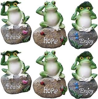 Details about  /35cm Garden Frog Planter Pot Ornament Statue Sculpture Home Garden Lawn Decor