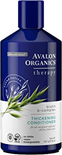Avalon Organics Biotin B-Complex Thickening Conditioner, 14 oz. (Pack of 6)