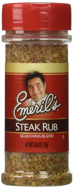 Emeril's All Natural Steak Rub (3.88 oz ea) 2 Pack