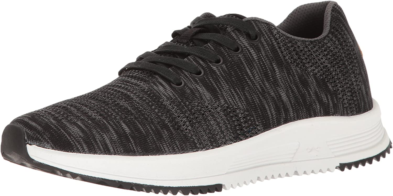 Freewaters Men's Tall Boy Trainer Knit Lace-Up shoes