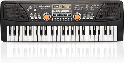 aPerfectLife Keyboard Piano 49 Keys, Multifunction Piano Key