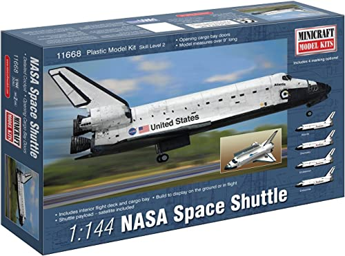Minicraft 11668 Modellbausatz NASA Space Shuttle