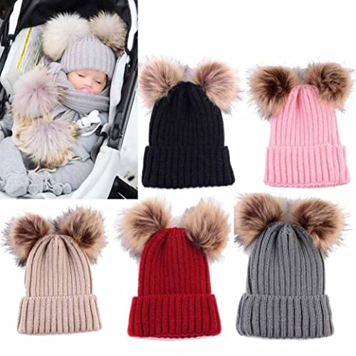 c2696158d3a Pom Pom Hats for Babies  Amazon.co.uk