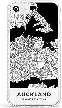 Mapa De Auckland, Nueva Zelanda Caja del teléfono de impacto para iPhone 7, for iPhone 8 | Protector Doble capa Parachoque TPU silikon Cubrir Modelo Impreso | Viaje Pasión De Viajar Europa Ciudad Call