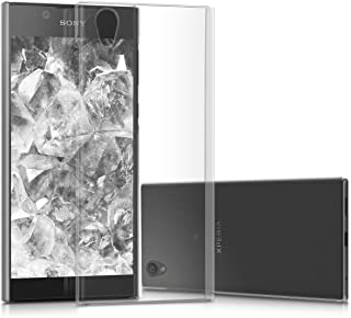 kwmobile Crystal Case for Sony Xperia L1 - Hard Durable Protective Smartphone Cover - Transparent