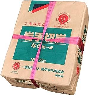 炭 岩手切炭 楢(なら)堅一級品(純国産品) 6kg