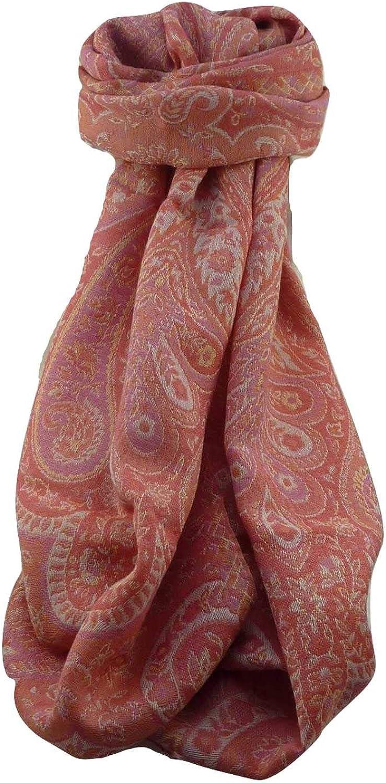 Muffler Scarf 0003 in Fine Pashmina Wool Heritage Range by Pashmina & Silk