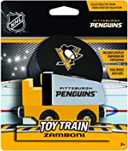 MasterPieces NHL Pittsburgh Penguins Wood Zamboni Train, 12