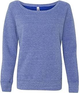 Canvas Ladies Fleece Wide Neck Sweatshirt