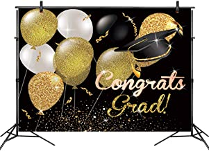 LB Graduation Ceremony Photography Backdrops 7x5ft Vinyl Congrats Grad Class of 2019 Background Customized Prom Party Banner Event Decoration Photo Studio Props