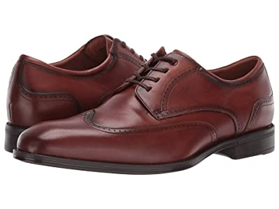 Florsheim Amelio Wing Tip Oxford (Cognac Smooth) Men
