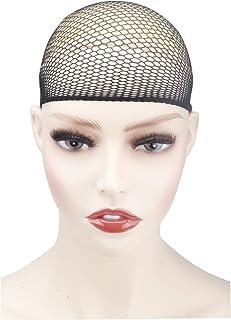JODELA Wig Cap, Wig Caps for Women Stretch(Black), 1 Pack