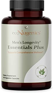 ecoNugenics – Men's Longevity Essentials Plus – 180 Capsules – Professionally Formulated to Provide Maximum Daily Benefit ...