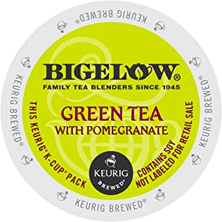 Bigelow Green Tea with Pomegranate, Keurig K-Cups, 72 Count