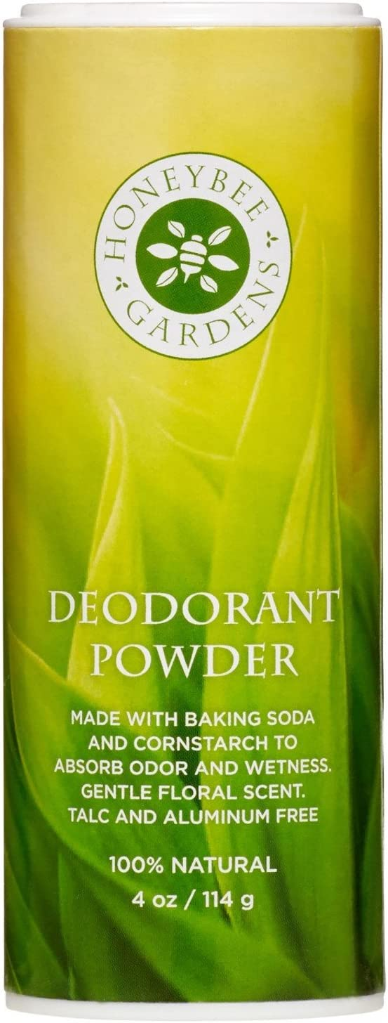 Honeybee Gardens Brand Cheap Sale Venue Deodorant Powder 100% and Alum Natural Talc NEW before selling