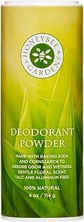 Honeybee Gardens - Deodorant Powder, Aluminum and Talc Free, 4 oz/114 g