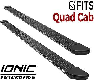 Ionic Gladiator Black Running Boards Dodge Ram 2014-2017 Quad Cab