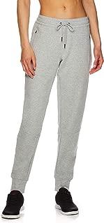 Women's Slim Fit Jogger Pants - Mid Rise Waist Athleisure Sweatpants for Women