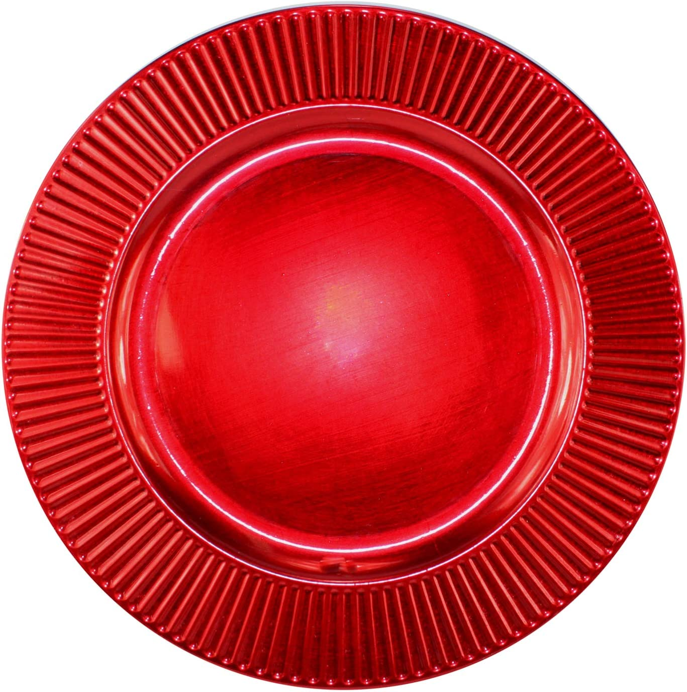 Decorative Red Very Max 67% OFF popular Plate Charger