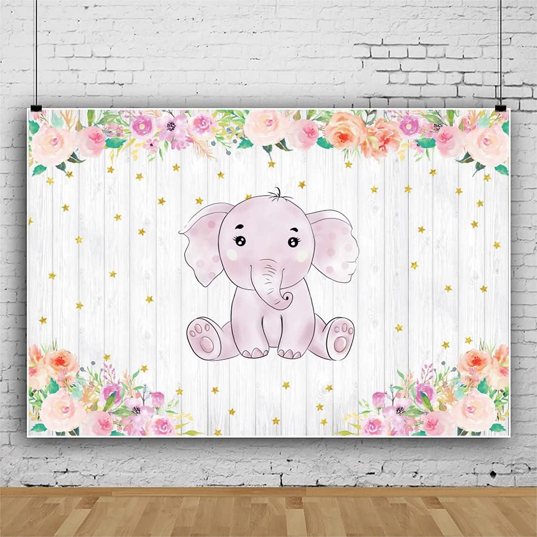 Yeele Baby Elephant Backdrop for trend rank 9x6ft Vinyl 5 ☆ very popular Photography Waterco