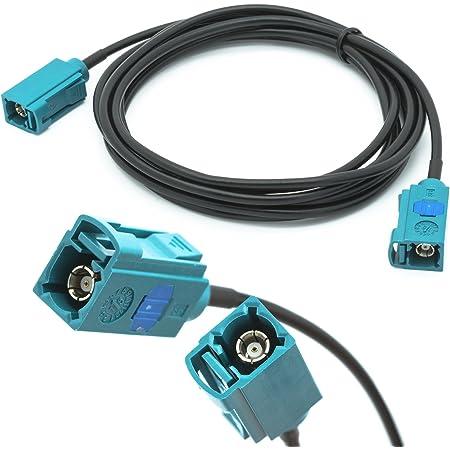 Auto Antennen 2 M Verlängerung Kabel Fakra Buchse Auf Elektronik