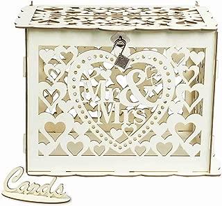 large wedding card post box