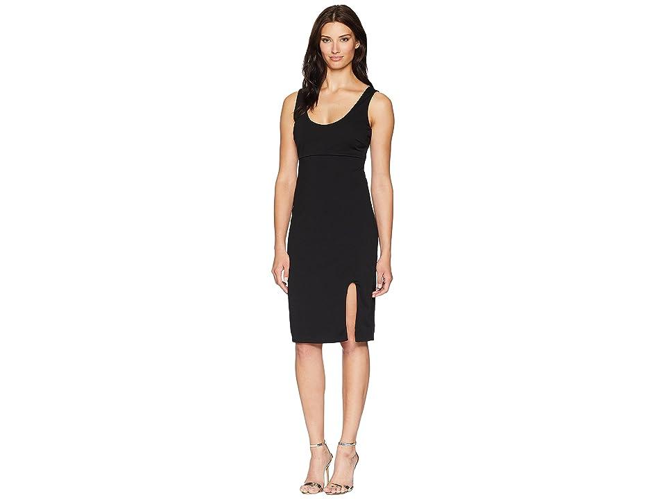 ALEXIA ADMOR Scoop Neck Midi Tank Dress (Black) Women