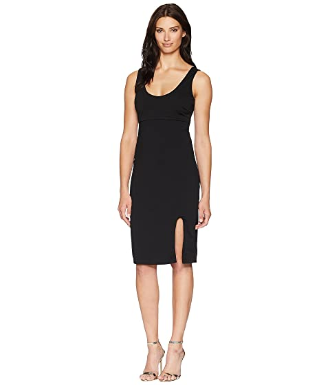 ALEXIA ADMOR Scoop Neck Midi Tank Dress, Black