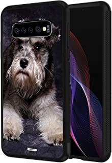 Galaxy S10E Case,Galaxy S10 Lite Case,AIRWEE Slim Shockproof Silicone TPU Back Protective Cover Case for Samsung Galaxy S10E (2019),Schnauzer Puppy Dog