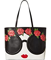 Alice + Olivia - Missy Stace Face Flowers Large Perfect Tote
