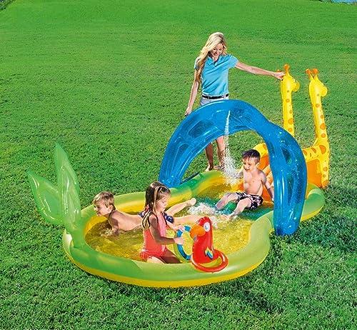 las mejores marcas venden barato LCYCN LCYCN LCYCN Flotador Juguete Hinchable para Piscina,Toboganes inflables de Agua de Piscina para Niños, PVC Piscina de natación Balsas para bebé más de 3 años de Edad Juguete de Agua para Niños,A  autorización