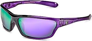Sponsored Ad - Polarized Wrap Around Sport Sunglasses for Men Women UV400 Sports Sun Glasses