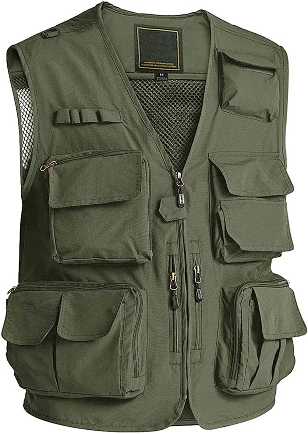 MAGCOMSEN Men's Outerwear Vests Casual P Work Multi Vest Outdoor Raleigh Mall Sales of SALE items from new works