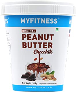 MYFITNESS Chocolate Peanut Butter 510g (Pack of 2)