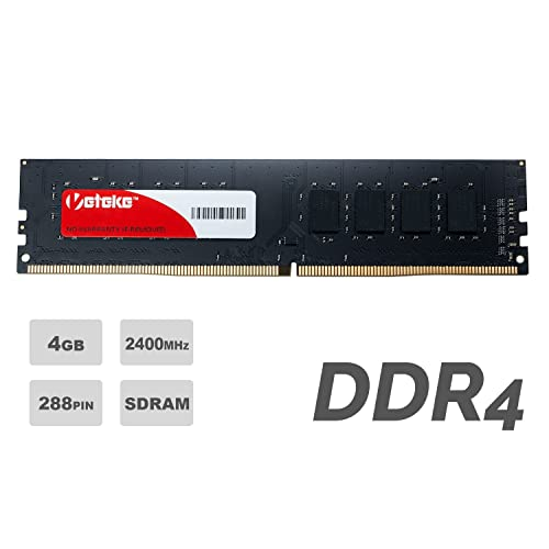 Veteke Performance RAM 4GB DDR4 2400MHZ PC4-19200 CL17 288-PIN DIMM | Memory