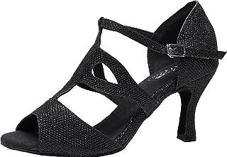 7135 Chaussures de danse élégantes en T pour salle de bal latine, fête de mariage ou événements personnalisés