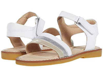 Elephantito Missy Sandal (Toddler/Little Kid/Big Kid) (White) Girl