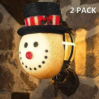 snowman outdoor christmas light